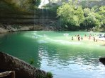 Explore nearby Rivers and Springs: Hamilton Pool. 16 miles.