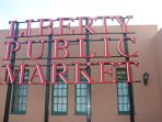 Liberty Public Market is only a walkable mile away from the house