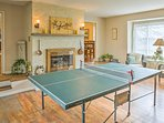 Pick teams and get a ping pong tournament started in the game room!