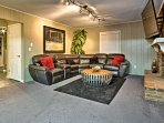 This spacious home offers 2,200 square feet of living space and accommodations for 6!