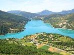 Lac de Castillon à 10 minutes