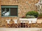 Kitchen patio, seaview