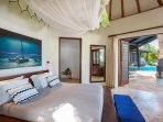 Bedroom 3 to pool
