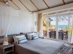 Bedroom 1 & deck