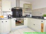 Showroom quality kitchen with granite worktops