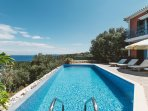 Alico Seaview Villa, 500m From The Beach, Agios Nikolaos Zante