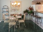Beautiful Dining Area with Breakfast Bar!
