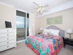 north guest bedroom & balcony