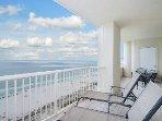 Balcony facing the Gulf