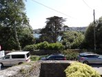 Stable Cottage - view from sitting room over Penryn River