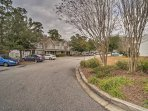 The townhome's Summerville location provides a perfect mix of city and suburb.
