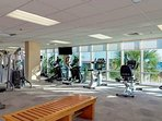 Gym Overlooking the Gulf of Mexico