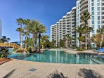 With a lavish on-site pool outside and upscale amenities inside the condo, this sweet spot is one of the best in Destin!