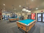 Rack 'em up for a game of pool.