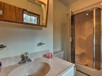 Enjoy a steam shower in the second full bathroom!