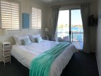 Rooms with the two single beds can be made to king beds