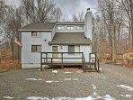 This Pocono Lake home is the perfect destination for your next retreat!