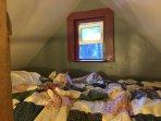 Sleeping loft.