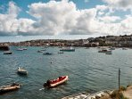 Stable Cottage- view of Falmouth from village quay. Ferry leaves from here every 20 minutes