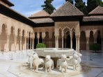 The Alhambra palace in Granada 55 min drive