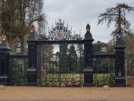 The Entrance to Royal Sandringham Estate is a short walk