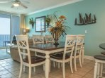 Dining Area with Gulf View