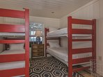 Guest Bedroom with 2 Twin Bunk Beds