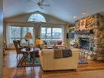 Experience Michigan's North Shore from this vacation rental home.