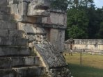 You can take a day trip to the ancient Mayan city of Chichen Itza, 7 wonder World Heritage site.