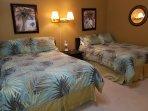SECOND FLOOR BEDROOM 2 FULL BEDS SLEEP 2 EACH