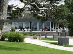 Less than a 500 metre walk along Takapuna Beach and you are there!