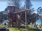 Newly opened in 2016, this popular beachfront playground in Takapuna will provide hours of fun.
