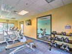 If you'd like to stay fit during your stay, head to the fitness center.