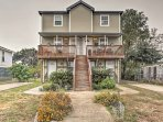 Nestled in a peaceful neighborhood, just minutes from the liveliness of downtown, this 2-bedroom, 1.5-bath vacation...