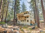 A peaceful getaway awaits at this Tahoe area at this Stateline vacation rental.