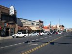 Stroll down the famous Whiskey Row - just minutes from the property!