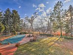 Let the kids jump around on the trampoline while you admire those Arvada views!