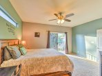 Wake up feeling refreshed as natural light pours into the room!