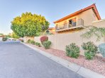 The home is located in a safe and gated community.