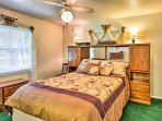 Choose from one of the 3 bedrooms to call your own during your stay.