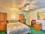 Ceiling fans will keep you nice and cool from the balmy Florida heat.