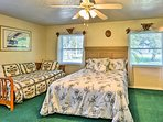 Kids or friends will love sharing this room with a queen bed!