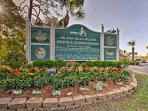 The condo is located within the Hilton Head Beach and Tennis Resort.