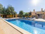 7 bedroom Villa in Espargal, Faro, Portugal : ref 5239129