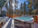 Lake Tahoe Mountain Cabin, 161 Pine, Great Mountain Views (SL161)