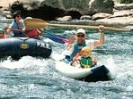 Floating the Lower Yough with Precision Rafting