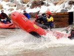 Intense Class V rafting the Upper Yough