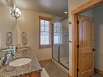 Three full bathrooms throughout the home make it easy to get ready for each day.