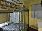 2 full-full bunk beds for the kiddies