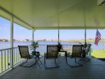 Sit back and enjoy the view of the Back Bay National Wildlife Refuge!